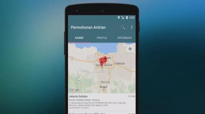 Aplikasi Android Sistem Antrian Online