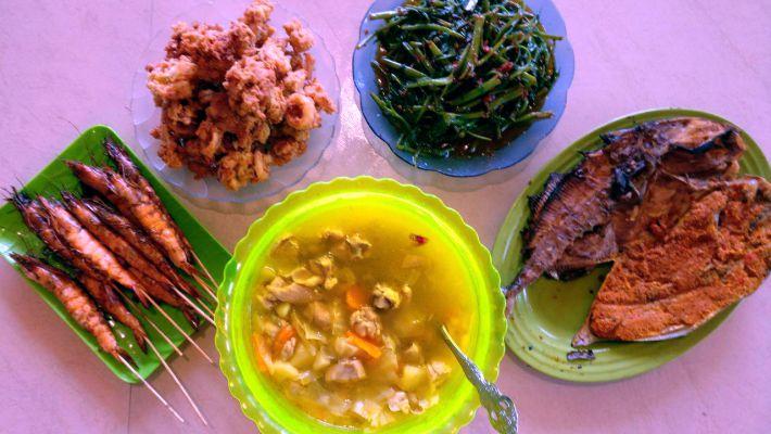 Makanan di Tanjung Kepayang