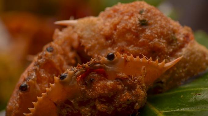 Ketam Isi, Makanan Khas di Belitung yang Wajib Kalian Makan