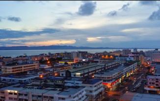 Pemandangan LA Tawau Hotel