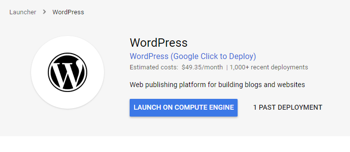 Cara Install Wordpress di Google Cloud Platform