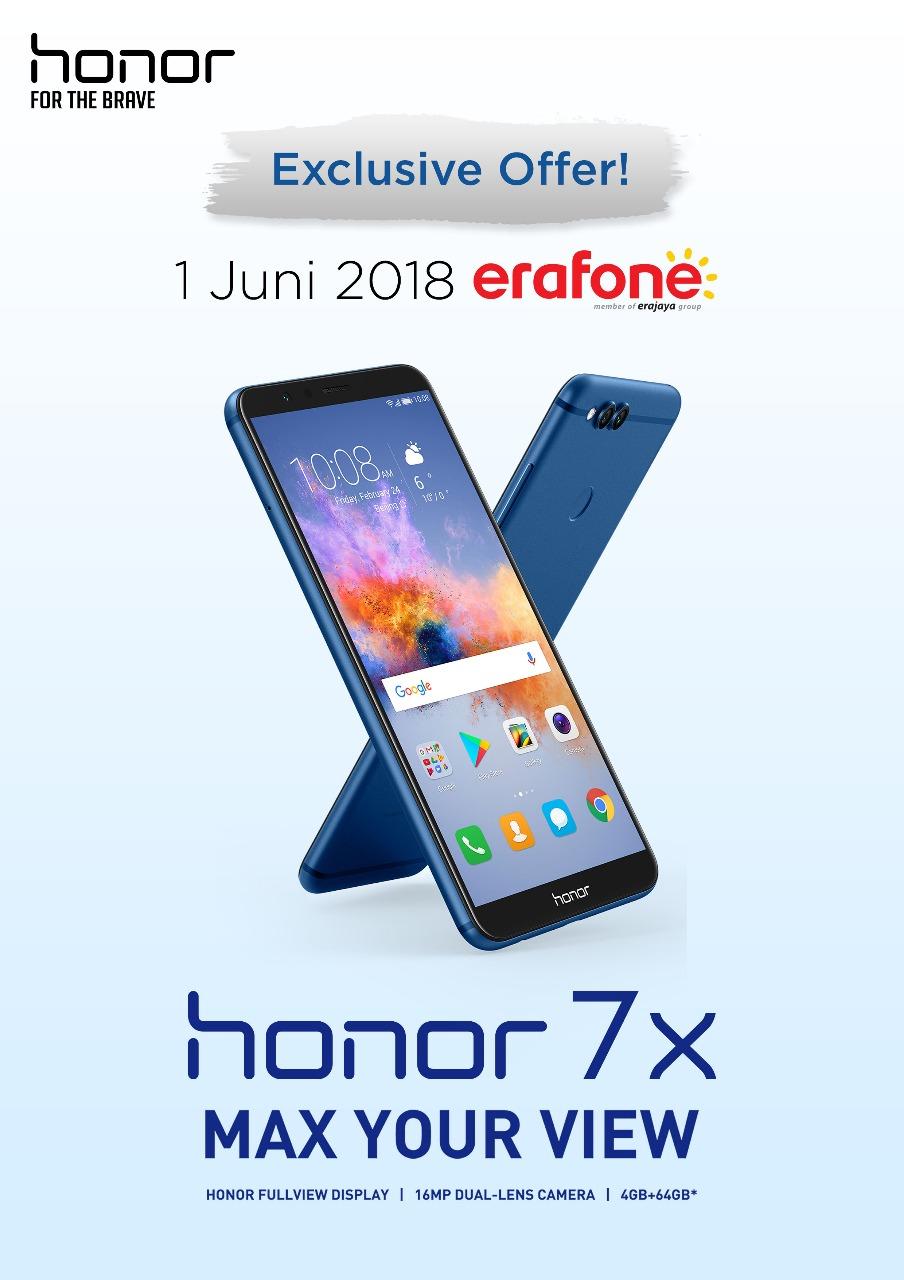 Honor 7X di Erafone
