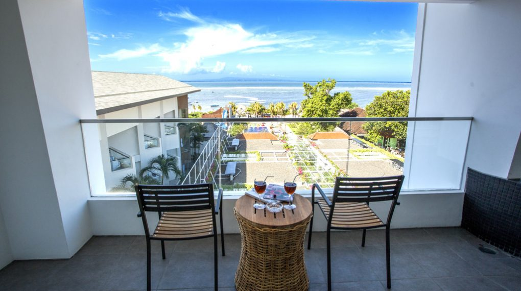 Pemandangan Benoa Sea Suites