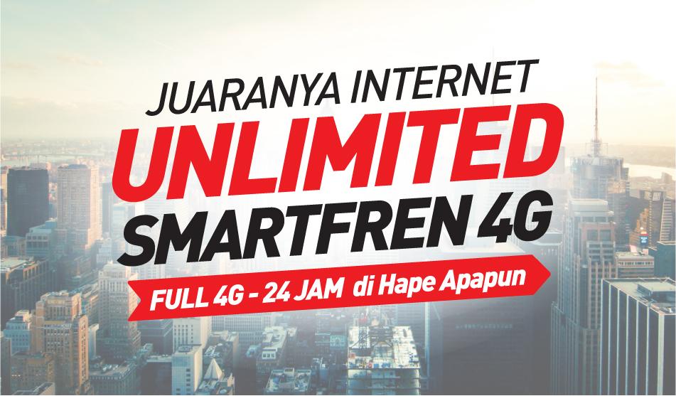 Paket Unlimited Smartfren Terbaru