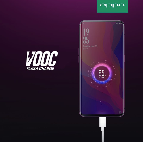 Flash Charge Oppo Find X