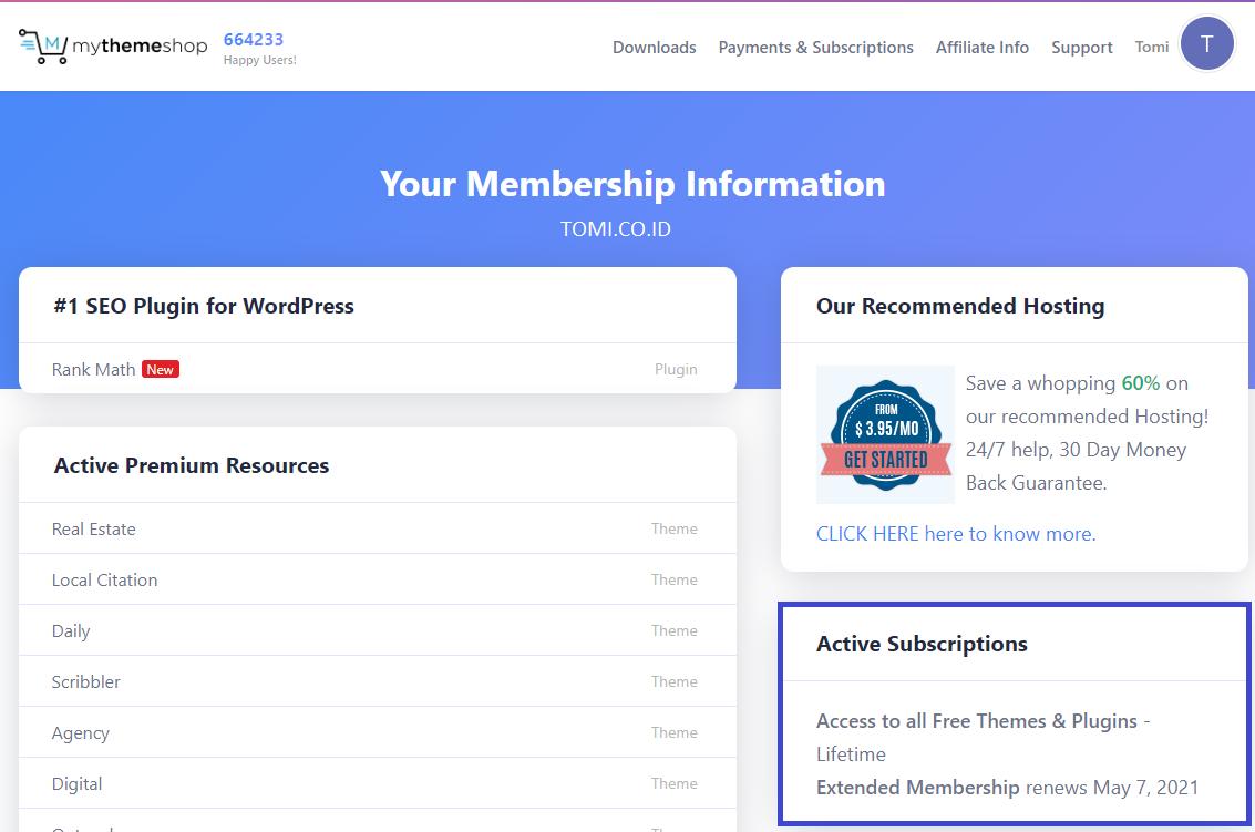 Jasa Install Themes dan Plugin WordPress dari MyThemeShop